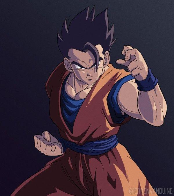 Gohan Mistico Personajes De Dragon Ball Dibujos Dragones