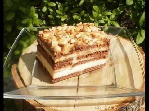 Moje pyszne, łatwe i sprawdzone przepisy :-) : Pyszne ciasto Snickers bez pieczenia z mlekiem w proszku :-)