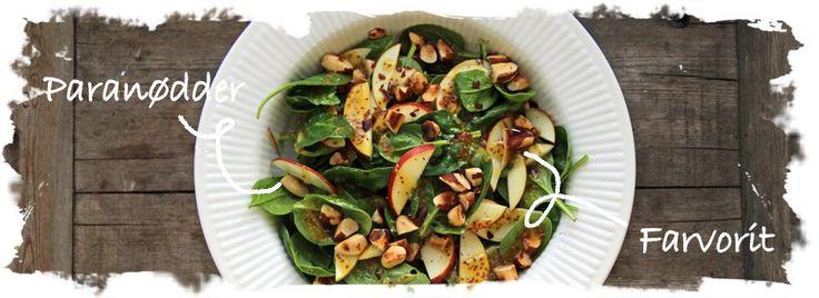Salat Tøsen - Spinatsalat