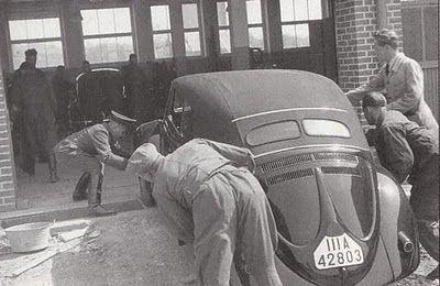 KdF Wagen als Cabrio, Typ 60, 1939.