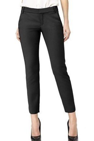 Pop on leggings that are tailored like dress pants. | 19 Lazy Ways To Look Like…