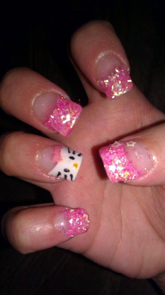 158 best Hello Kitty Nails images on Pinterest | Hello kitty nails ...
