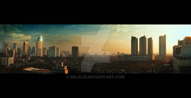 Sudut Jakarta by msjeje on DeviantArt