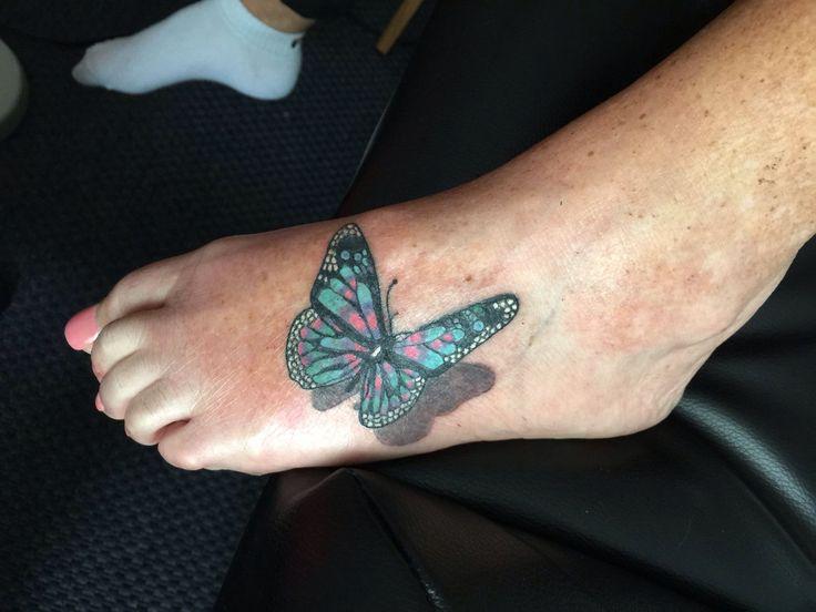 schmetterling mit schatten my tattoo work pinterest tattoo. Black Bedroom Furniture Sets. Home Design Ideas