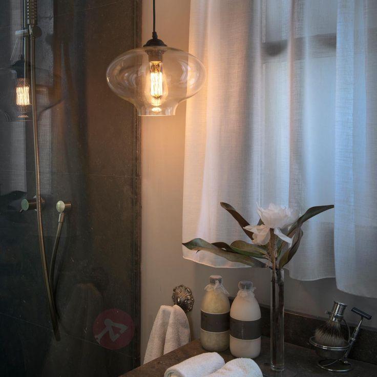 Alma - przepiękna szklana lampa wisząca 3507191