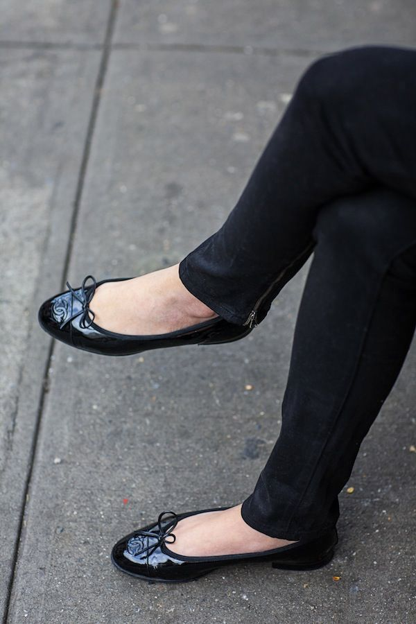 Chanel Ballet Flats Skinny Jeans My Daily Wear Except