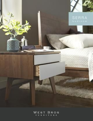 Serra bedroom collection catalog