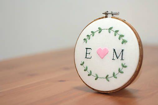 Framegroup / Svadbokruh Simple Rose, 13 cm