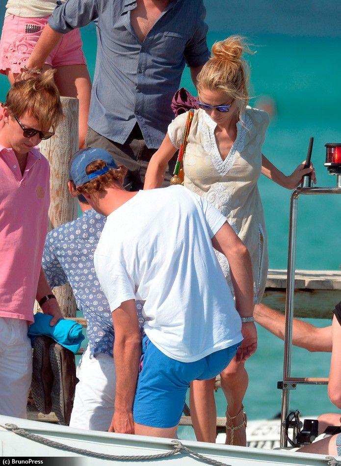 Prins Pierre Casiraghi & Beatrice Borromeo in Saint Tropez   BrunoPress.nl
