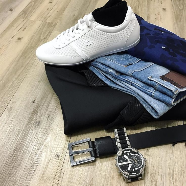 A closer look at the details // G-Star restored denim arc fit jeans G-Star all over print tee (on sale) Cahill Plus neoprene hoodie (now 20% off) Lacoste trainers Lafitte socks G-Star leather belt and Diesel watch  #mensfashion #trampsthestore #wollongong #GStar #CahillPlus #sportluxe #streetstyle #RestoredDenim #flatlay #autumnWinter #tailoredfashion #menWithStyle #weekendready #datenight