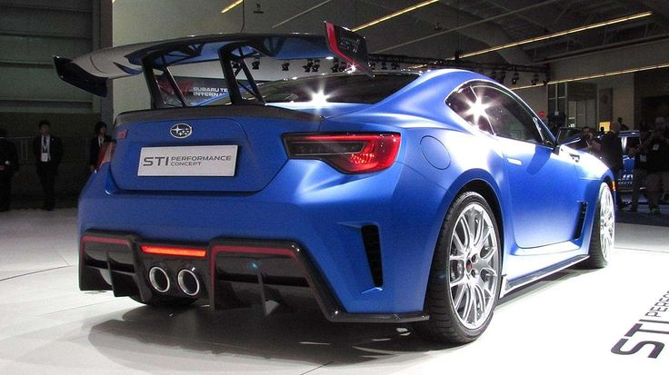 Subaru BRZ STI Performance Concept - Motoring Research