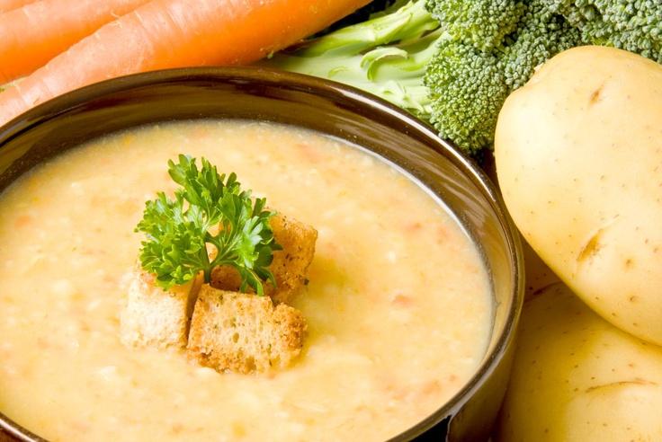 ¡Receta! Sopa de papa y zanahoria: http://www.sal.pr/recetas/sopadepapayzanahoria.html