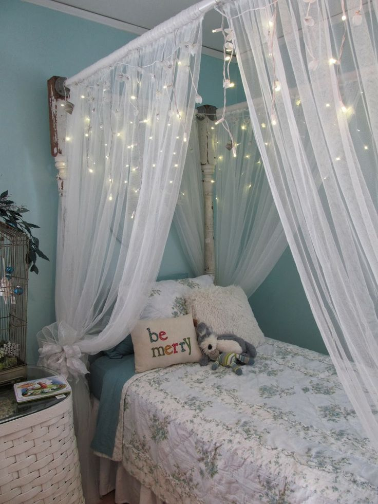 1000 id es propos de ciel de lit fille sur pinterest. Black Bedroom Furniture Sets. Home Design Ideas