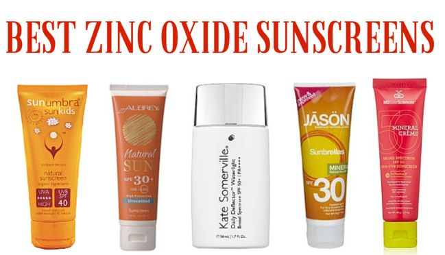 If you're not using a sunscreen with zinc oxide, you're missing out. Find out why, and what my favourites are.