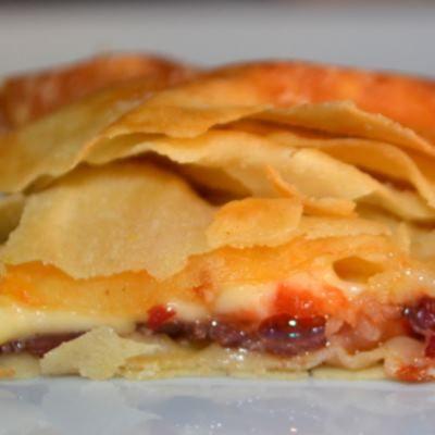 Πίτα Καισσαρείας (παστουρμαδόπιτα)