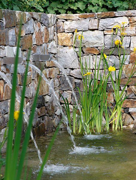 Perfect Gartengestaltung Wasser im Garten