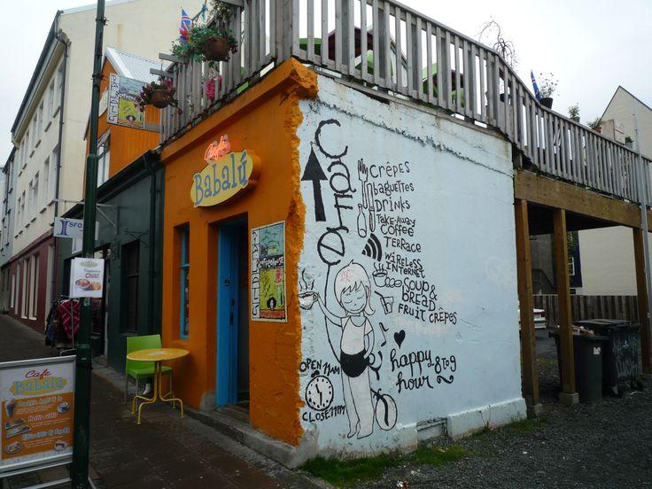 Iceland, Reyklavik, Cafe Babalu