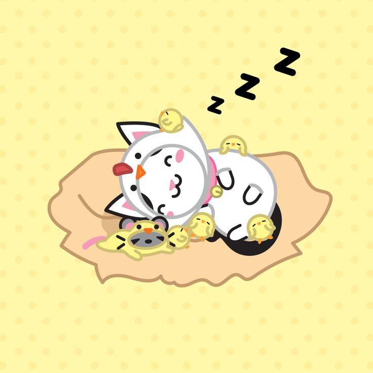 Time to take a nap (-ω-) Zzz – Hora de tirar uma soneca (-ω-) Zzz