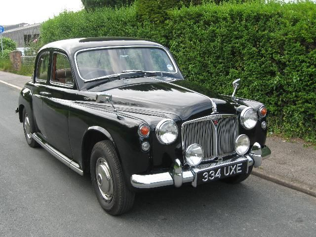 Rover P4 100 1960 The Car my Dad always wanter