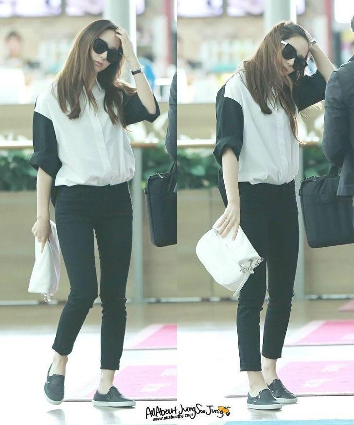 Krystal 140413 Incheon Krystal F X Airport Fashion Pinterest Incheon So Cute And