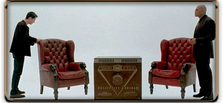 Red leather Matrix chairs_ all decades