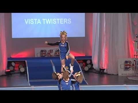 Vista Twisters Junior Group Stunt Level 2 - YouTube