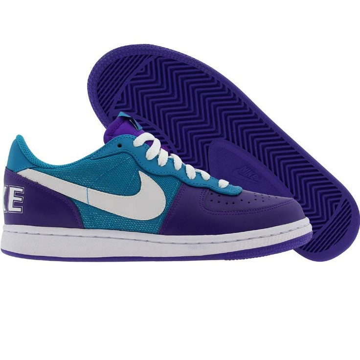 59ba59d7c07b Nike Womens Terminator Low (pure purple   white   neo turq) 308863-511