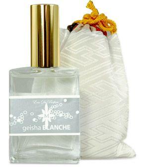 Geisha Blanche Eau de Parfum Eau de Parfum by Aroma M, at Luckyscent. Hard-to-find fragrances, niche brand perfumes,  and other under-the-radar luxuries.