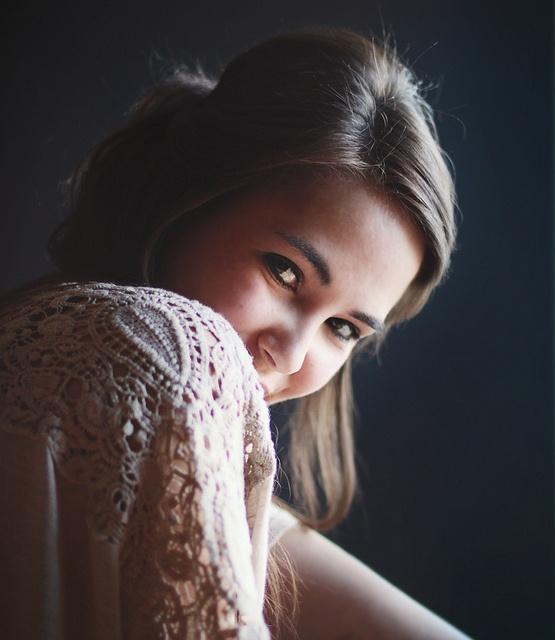 natural window light portrait...me
