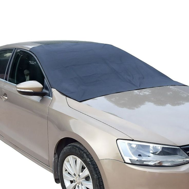 Car IceScreen Deluxe Magnetic Ice Snow Sun Windshield Cover Waterproof Free Ship #FEENM