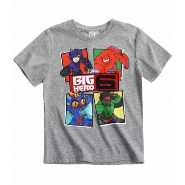 Super flot Big Hero 6 t-shirt med motiv fra filmen af samme navn
