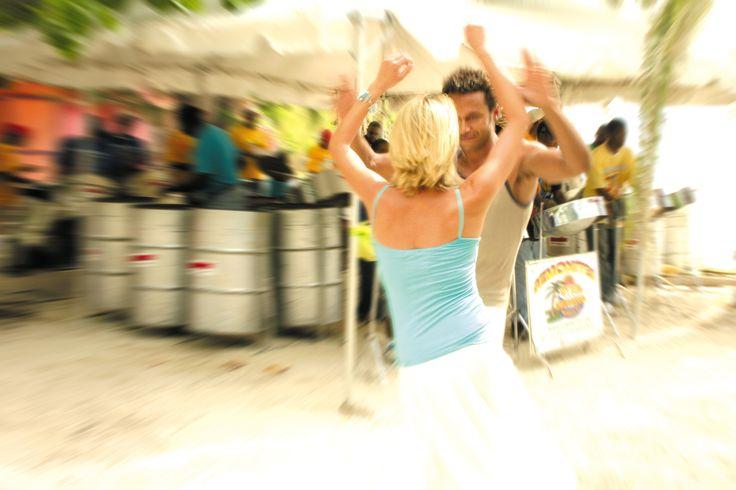 Entertainment at Jolly Beach, Antigua copyright: Antigua & Barbuda Tourism Authority