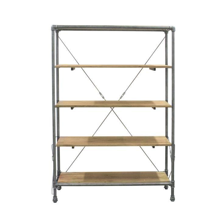 Pipe Up Industrial Bookshelf | dotandbo.com