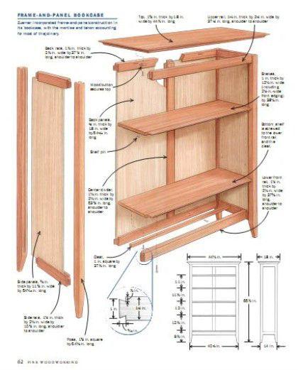 17 mejores ideas sobre planos de carpinter a en pinterest for Planos de carpinteria