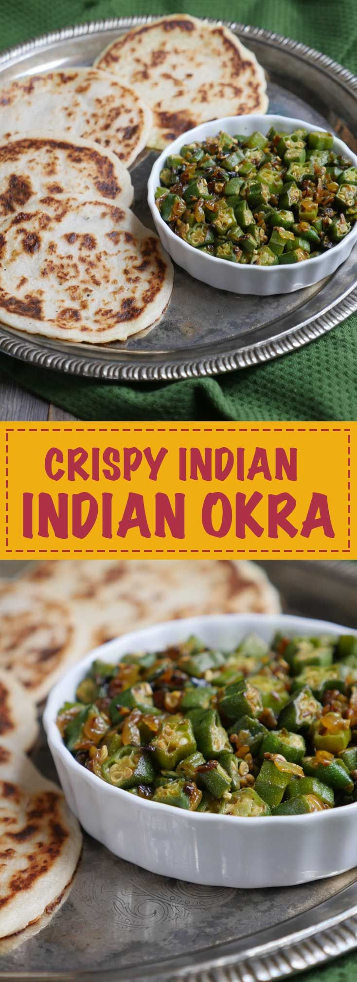 Crispy Indian Okra by Ashley of MyHeartBeets.com                                                                                                                                                      More