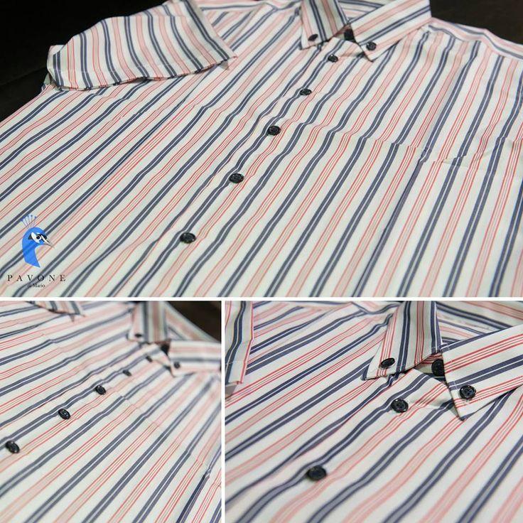 Τρικολίνα Αγγλίας (βαμβάκι) Κοντό μανίκι Γιακάς κλασικός 6,5 πόντους με κουμπί Κουμπί μπλέ σκούρο,κουμπότρυπα λευκή.