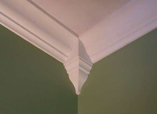 17 best images about crown molding on pinterest | vaulted ceilings, Wohnzimmer dekoo