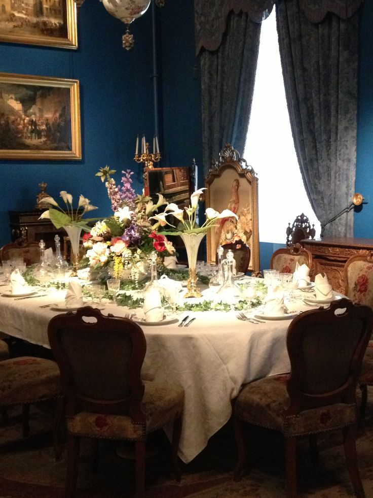 Victorian Dinner Party Part - 42: Victorian Dinner Table