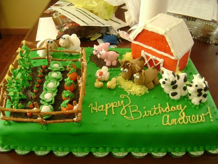 Fondant Farm Animal Tutorial Google Search Cakes