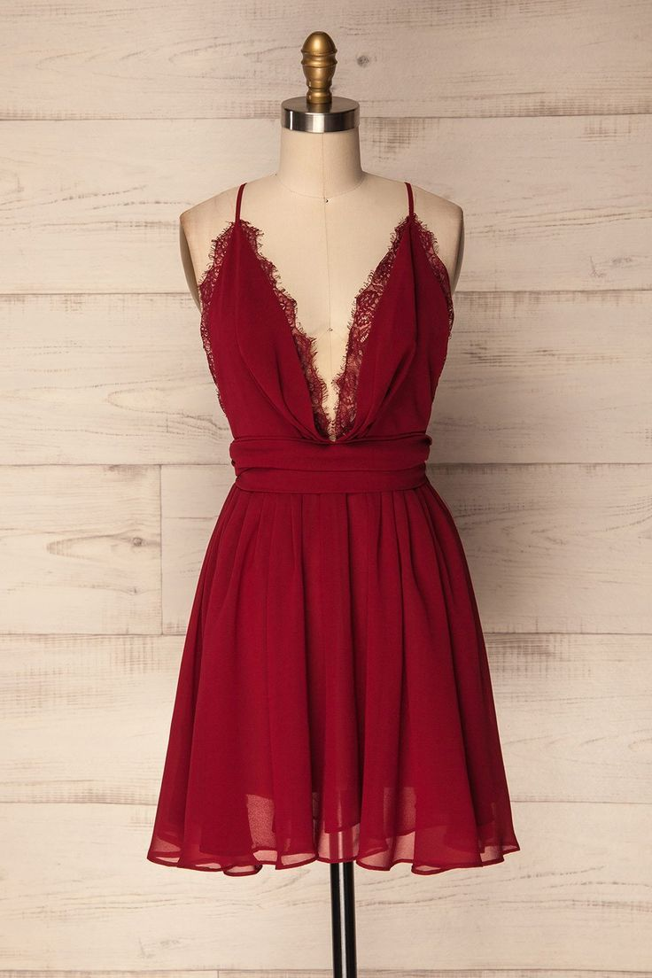 Tanjan - Feiern Sie gründlich in diesem umwerfenden Chiffon-Kleid