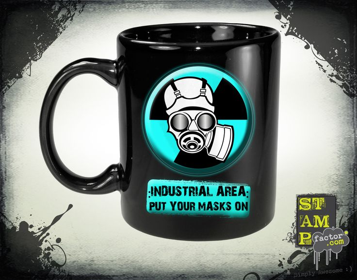 Put Your Masks On (Version 04) 2014 Collection - © stampfactor.com *MUG PREVIEW*