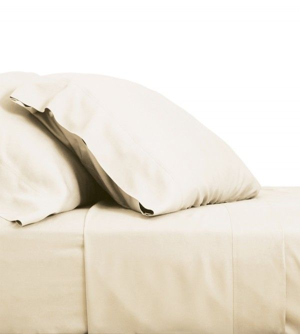 Resort Bamboo Bed Sheets Coconut Milk Bamboo Bed Sheets