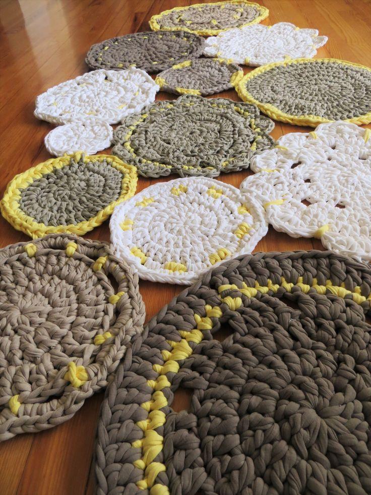 96 mejores im genes sobre alfombras cestas todo for Alfombras hechas a mano en casa