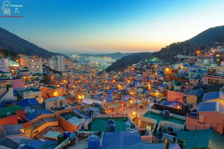 감천문화마을 Busan Korea