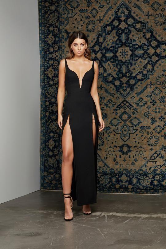 5a0b43dc7ddb9 2019 Siyah Abiye Elbise Modelleri – Alımlı Kadın | > P R O M ...