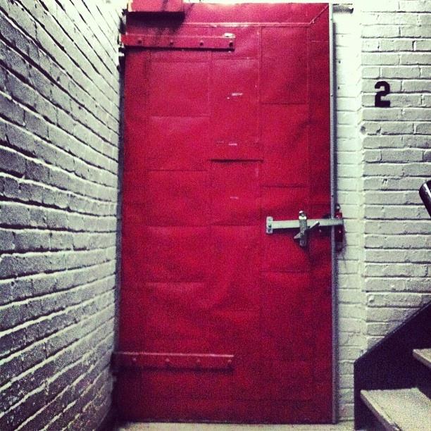 Our building is money.  Red Door. St-henri.    Ovrgrnd.ca