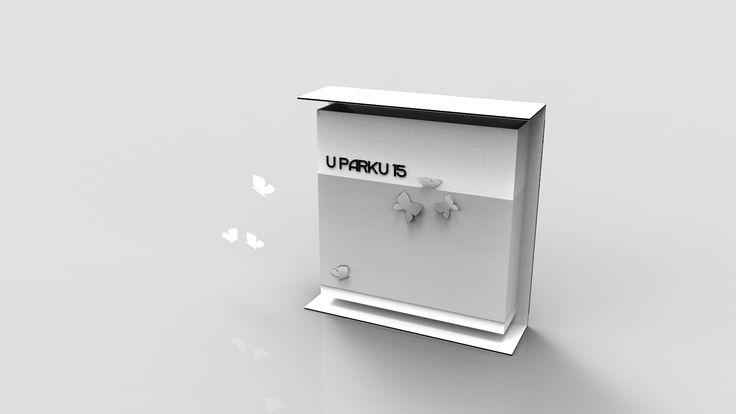 """Naše poštovní schránka - ZAMYKACÍ """" Motýlí klasika..."""""""
