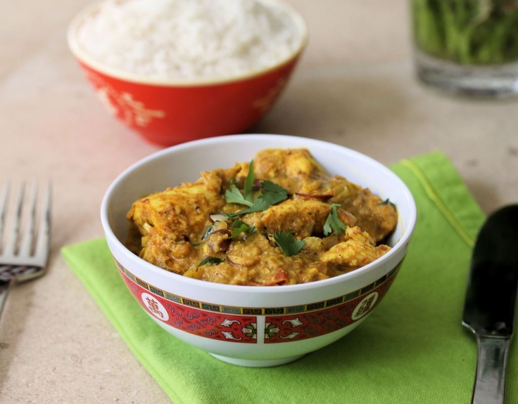 Chicken Korma - one of my favorite Indian dishes.