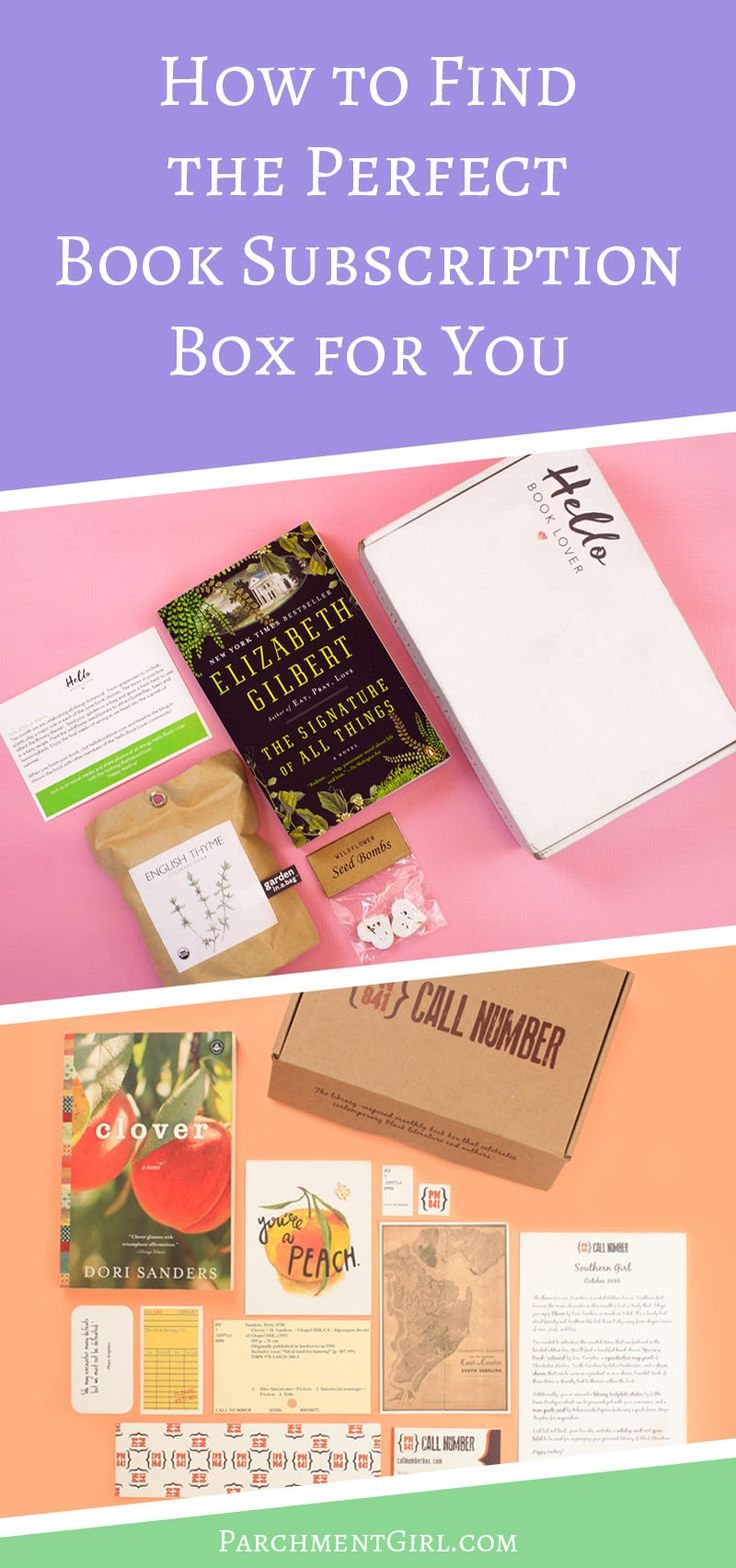How To Find The Perfect Book Subscription Box For You