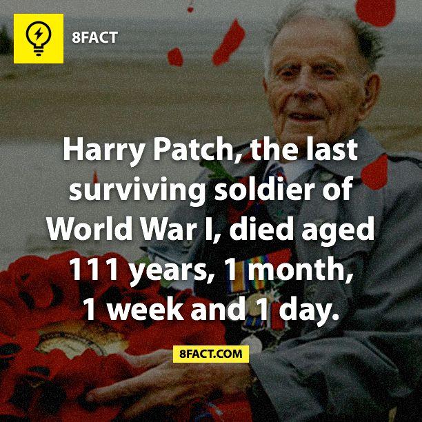 WW1 - Harry Patch